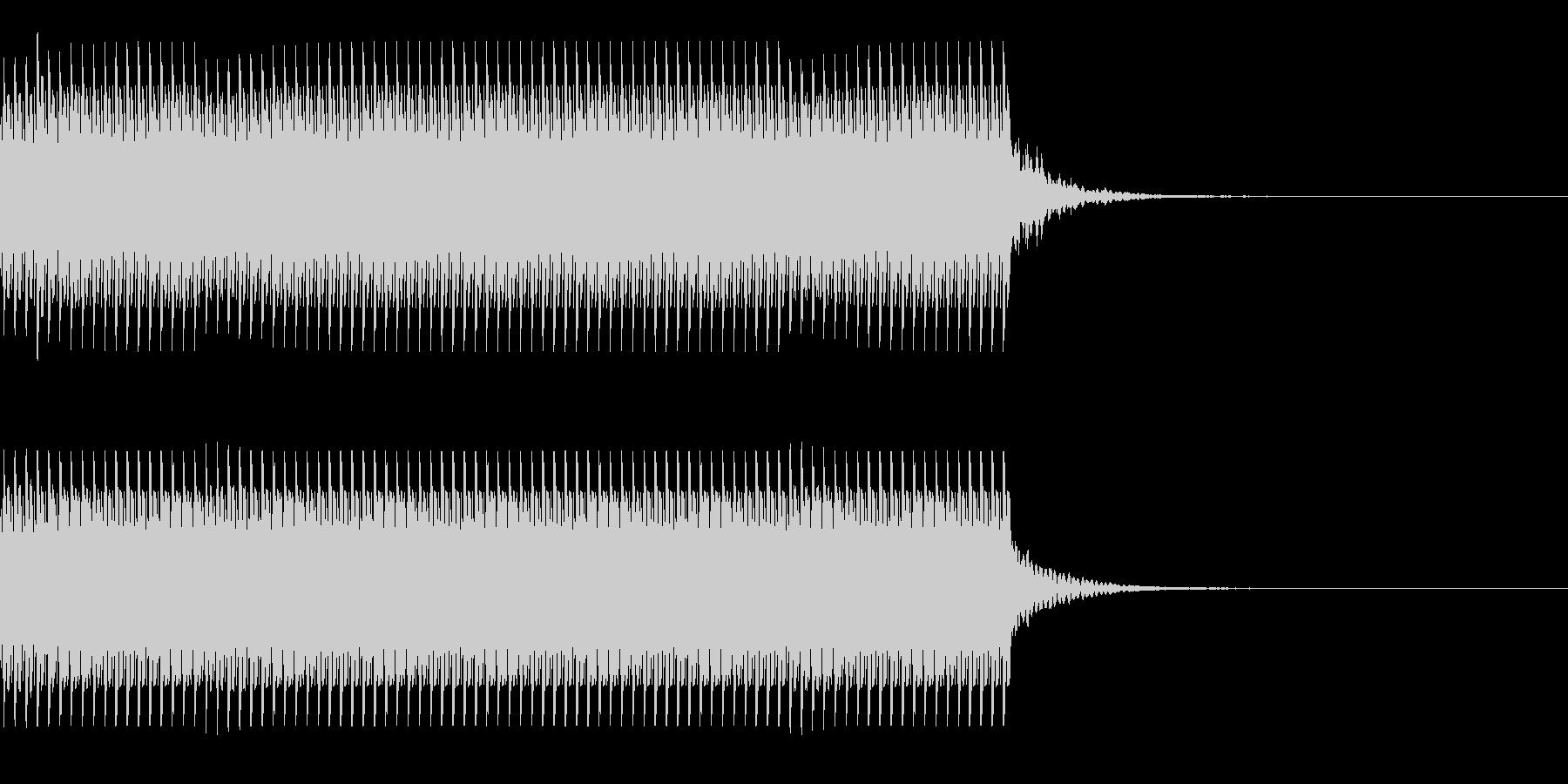 コイン90枚獲得 集計 スコア チャリンの未再生の波形