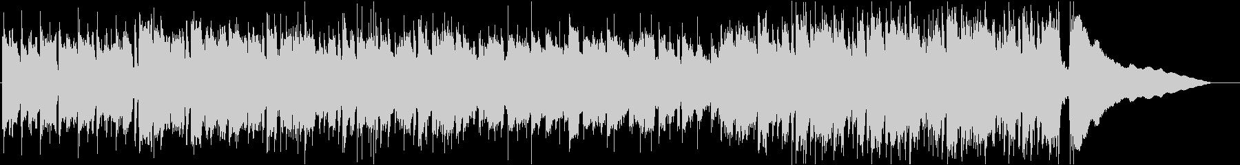 アコギが中心の穏やかな曲_ワンコーラス2の未再生の波形