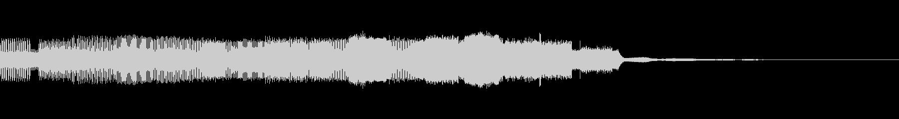 パチンコ的アイテム獲得音04(電子音)の未再生の波形