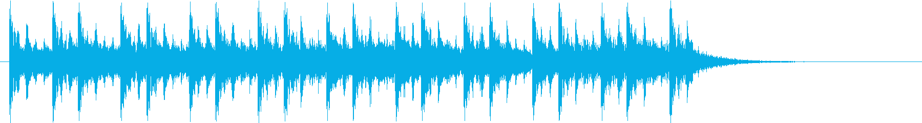 Game Battle Wind Jingle's reproduced waveform