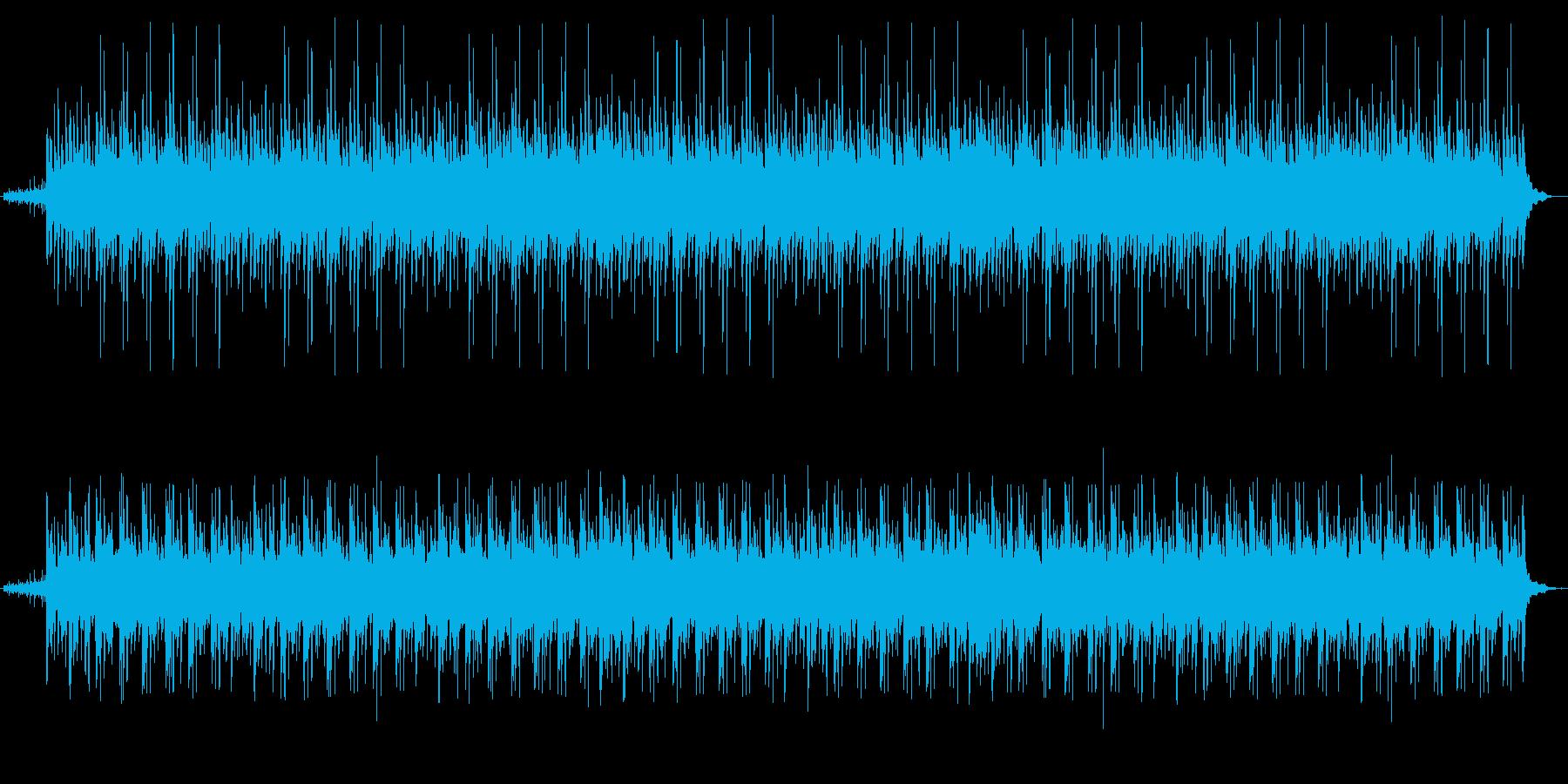 リラクゼーションシーンに最適なBGMの再生済みの波形