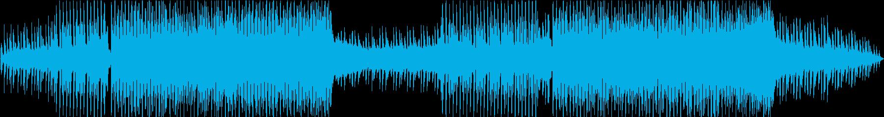 Stylish soft summer EDM's reproduced waveform