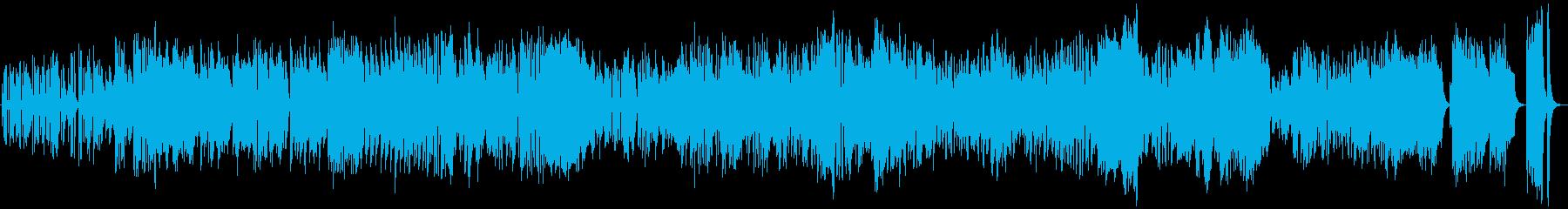 弦楽器を使用したクラシックピアノフ...の再生済みの波形