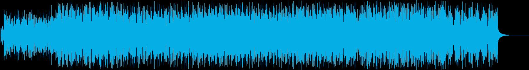 希望 前進 機械 情報 都会 軽快の再生済みの波形