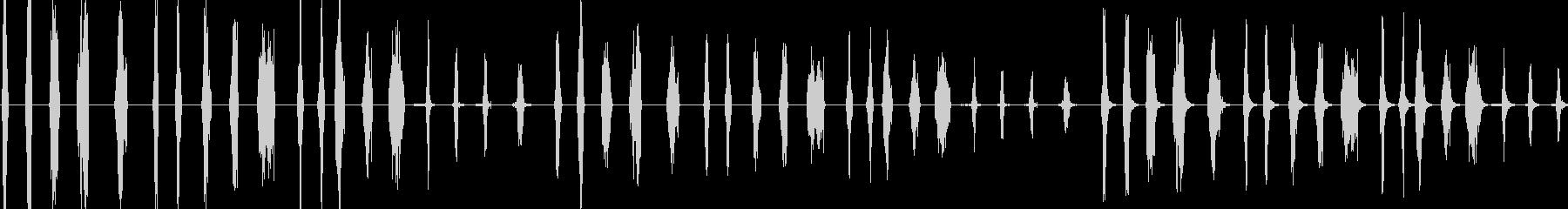 ジッパー、20バージョンX 3ルー...の未再生の波形