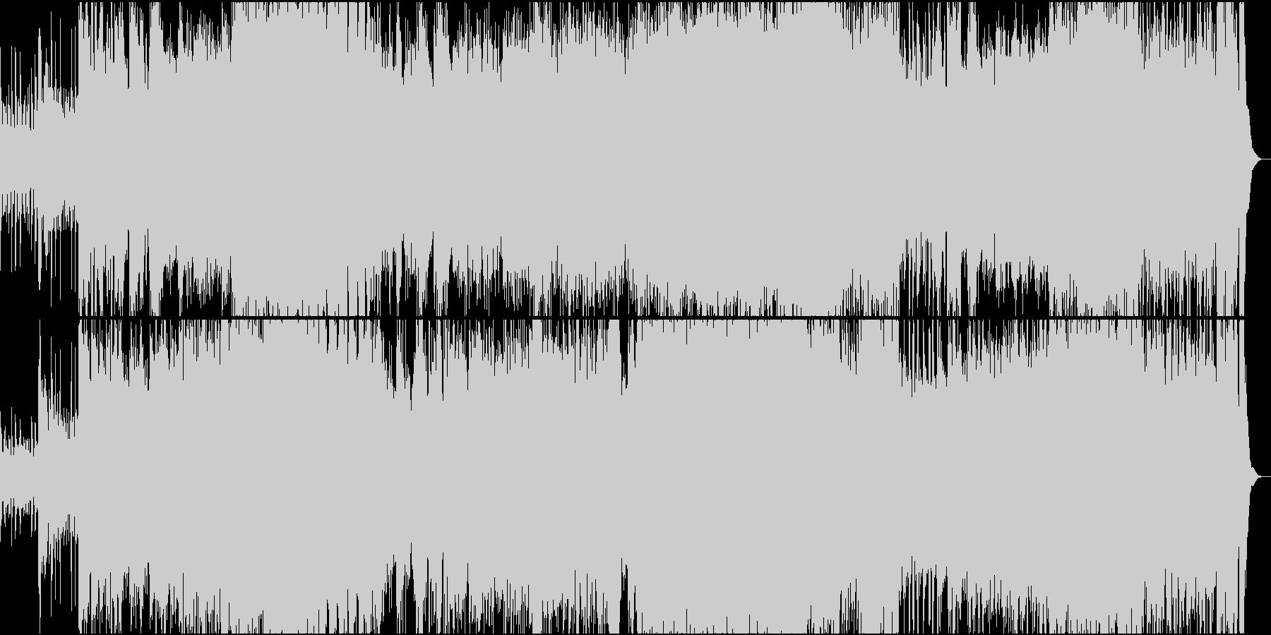 戦うお馬さん(フルオケとコーラス隊)の未再生の波形