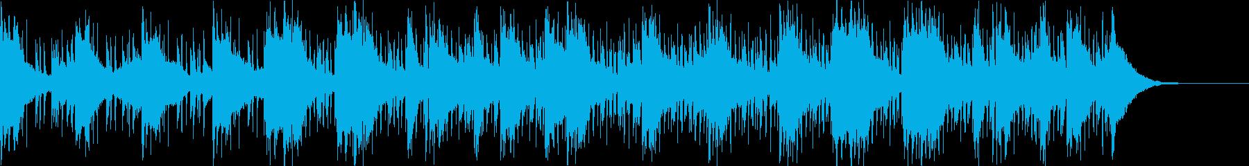 Pf「月夜」和風現代ジャズの再生済みの波形