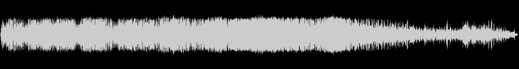 火山のシューという音、うがい、ブロ...の未再生の波形