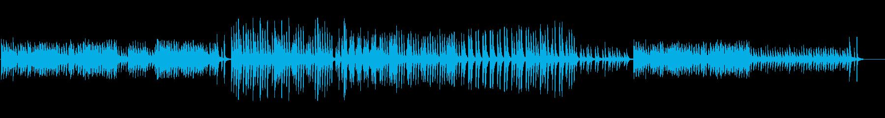 奇妙で軽やかなマリンバ系BGMの再生済みの波形