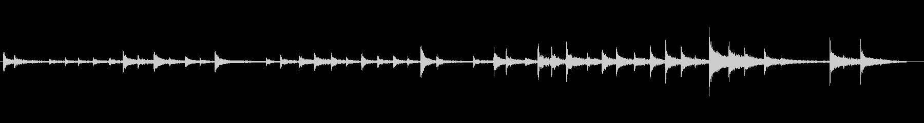 パイプメタルクランクヒットの未再生の波形