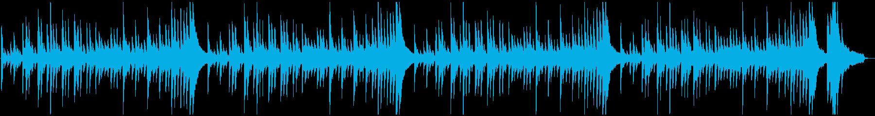 どこか優しい不協和音の再生済みの波形