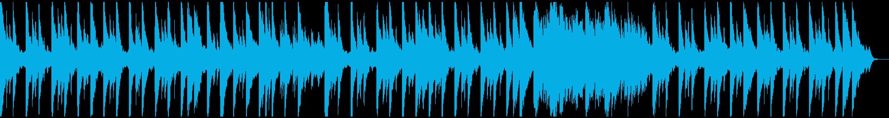 ピアノとシンセのみのシンプルなヒーリングの再生済みの波形