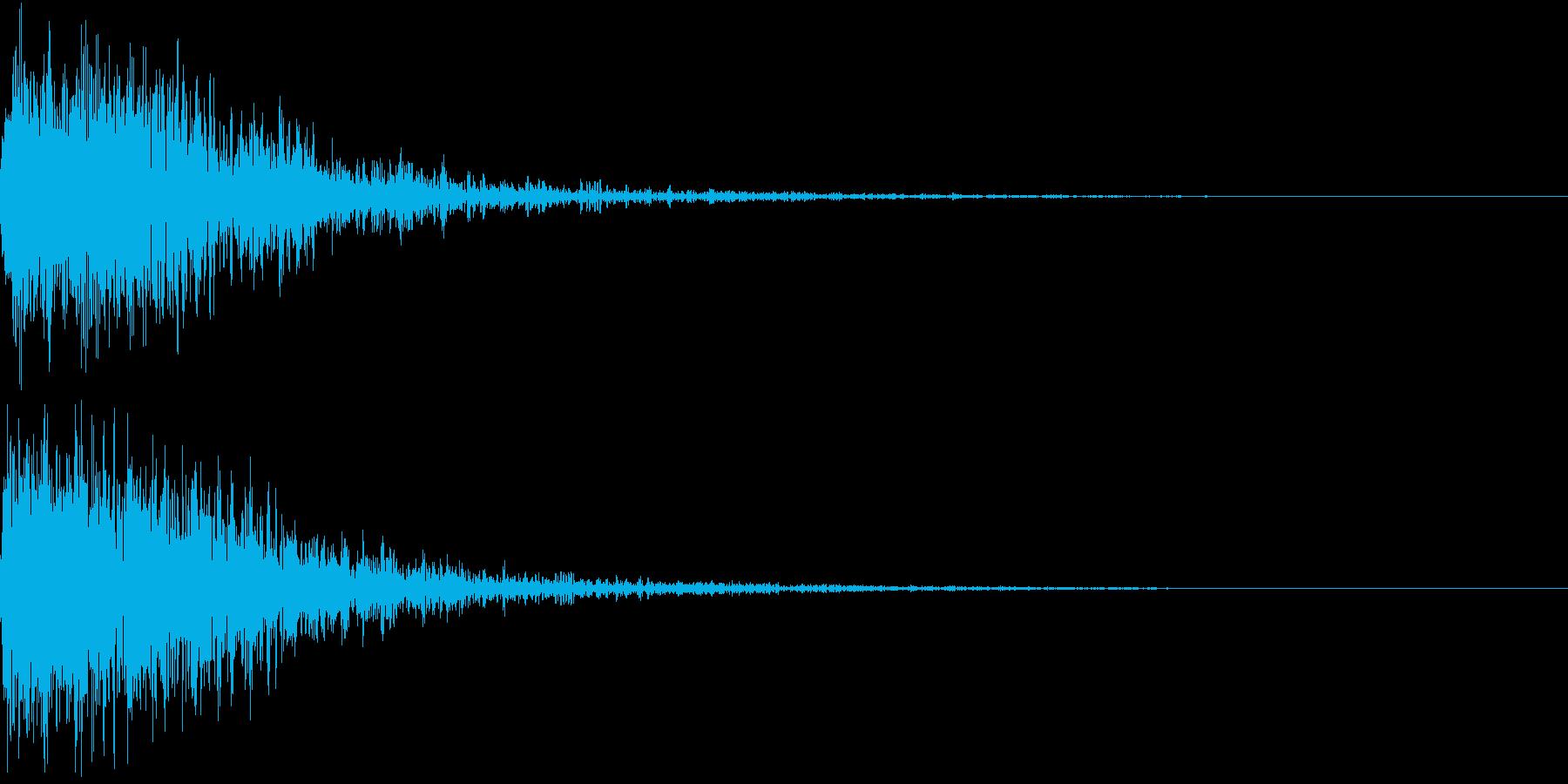 恐竜 怪獣 吠える 衝撃 ホラー 20の再生済みの波形