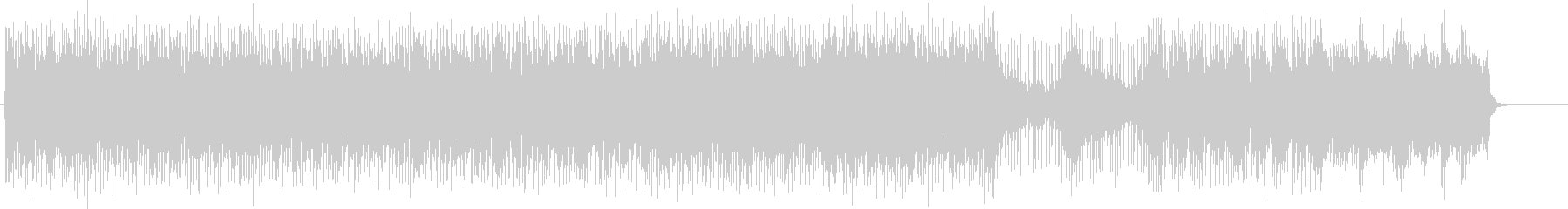 頭サビメロがキャッチーなテーマのロックの未再生の波形