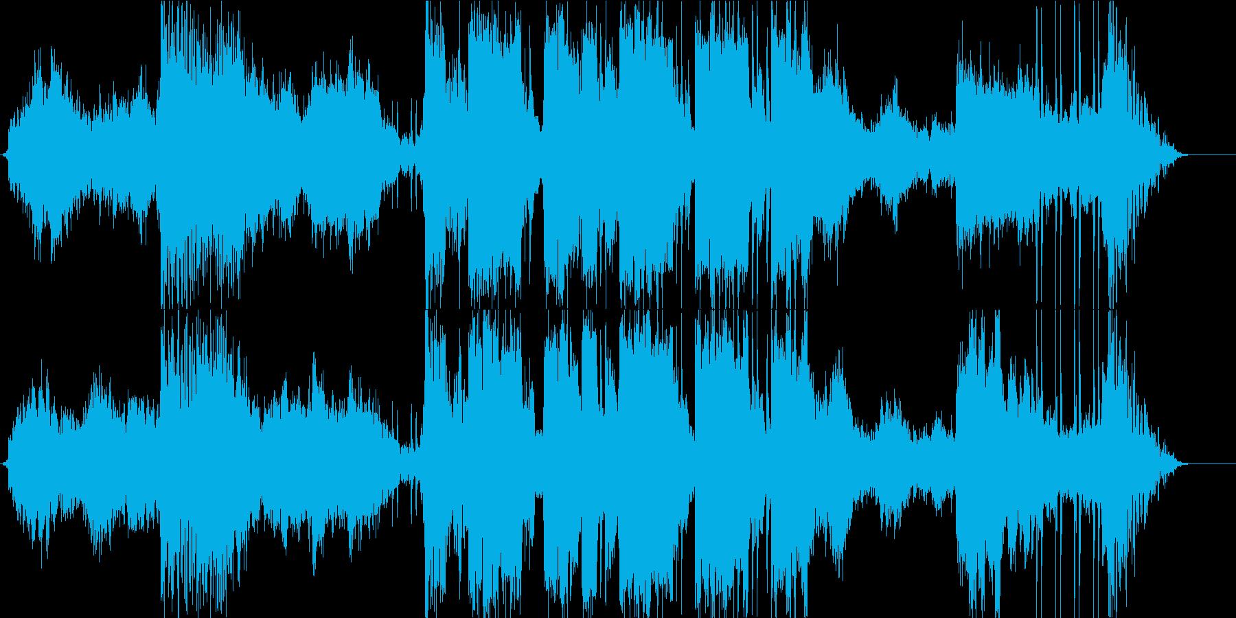実験的な アンビエント ドラマチッ...の再生済みの波形