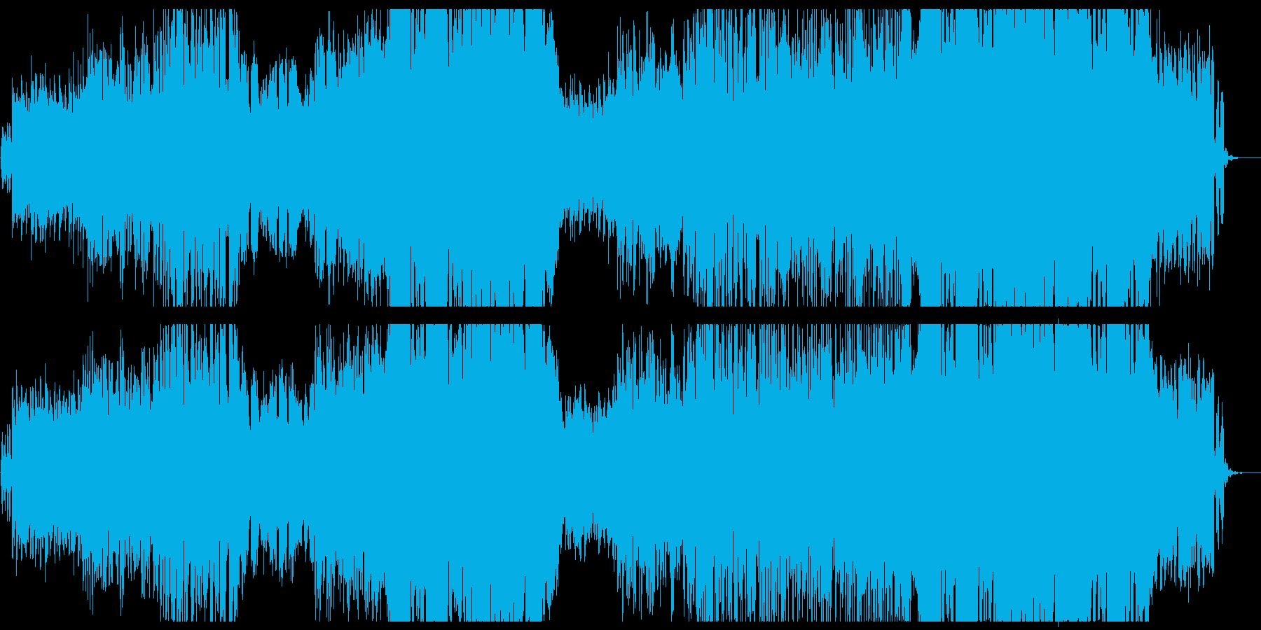 切ない和風Future Bassの女性曲の再生済みの波形