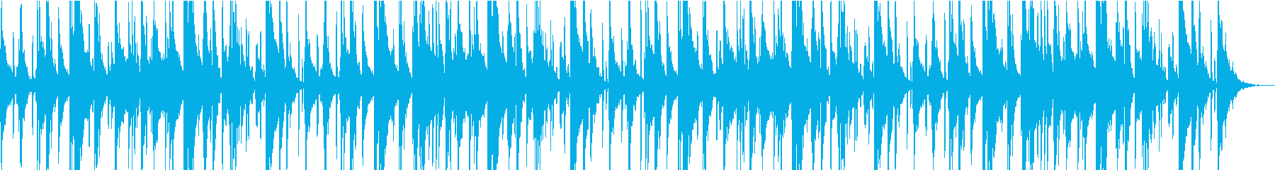 Vlog、実況、説明、商品紹介系BGM5の再生済みの波形