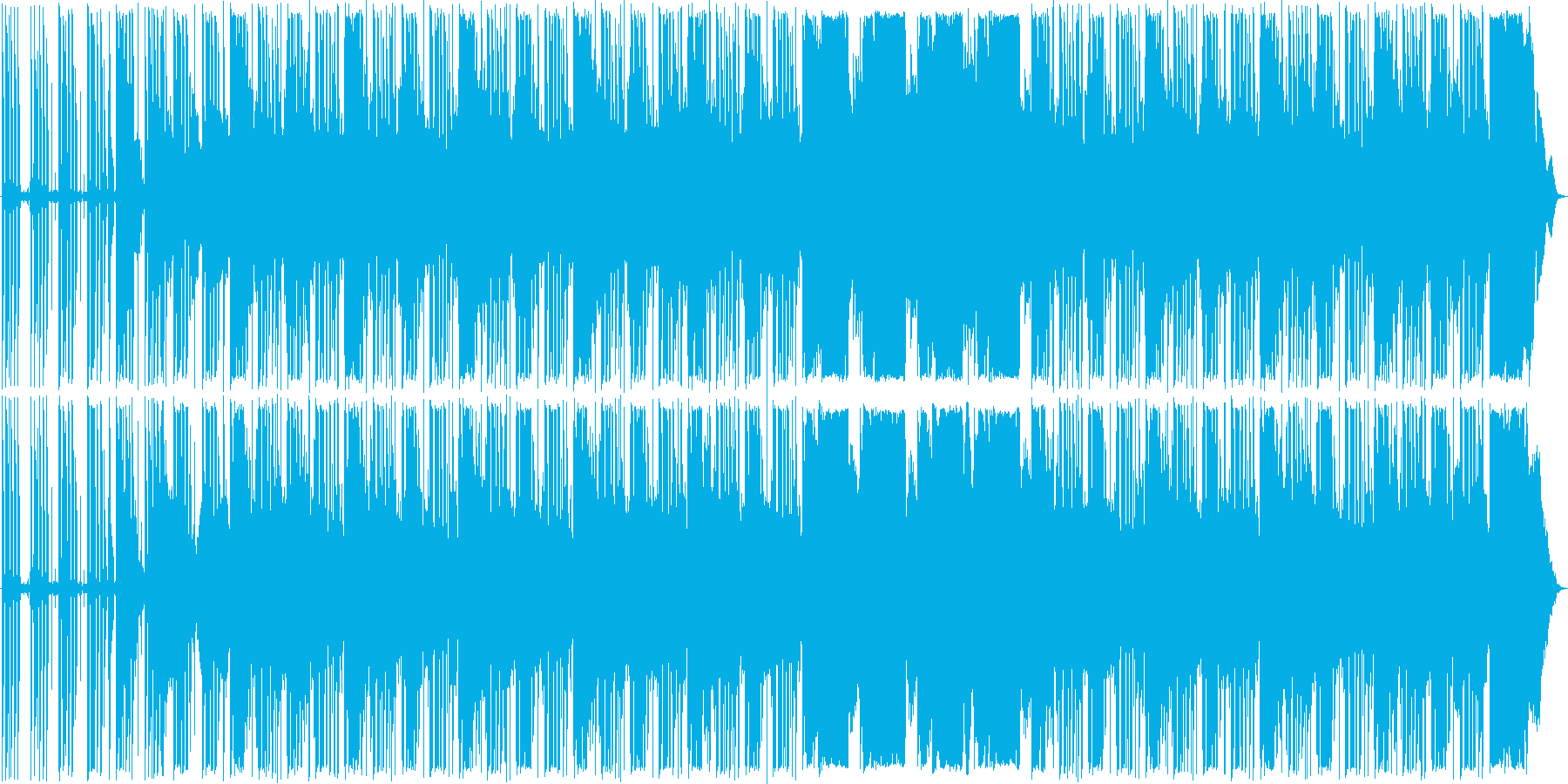 アコギ優しいメローlofi hiphopの再生済みの波形