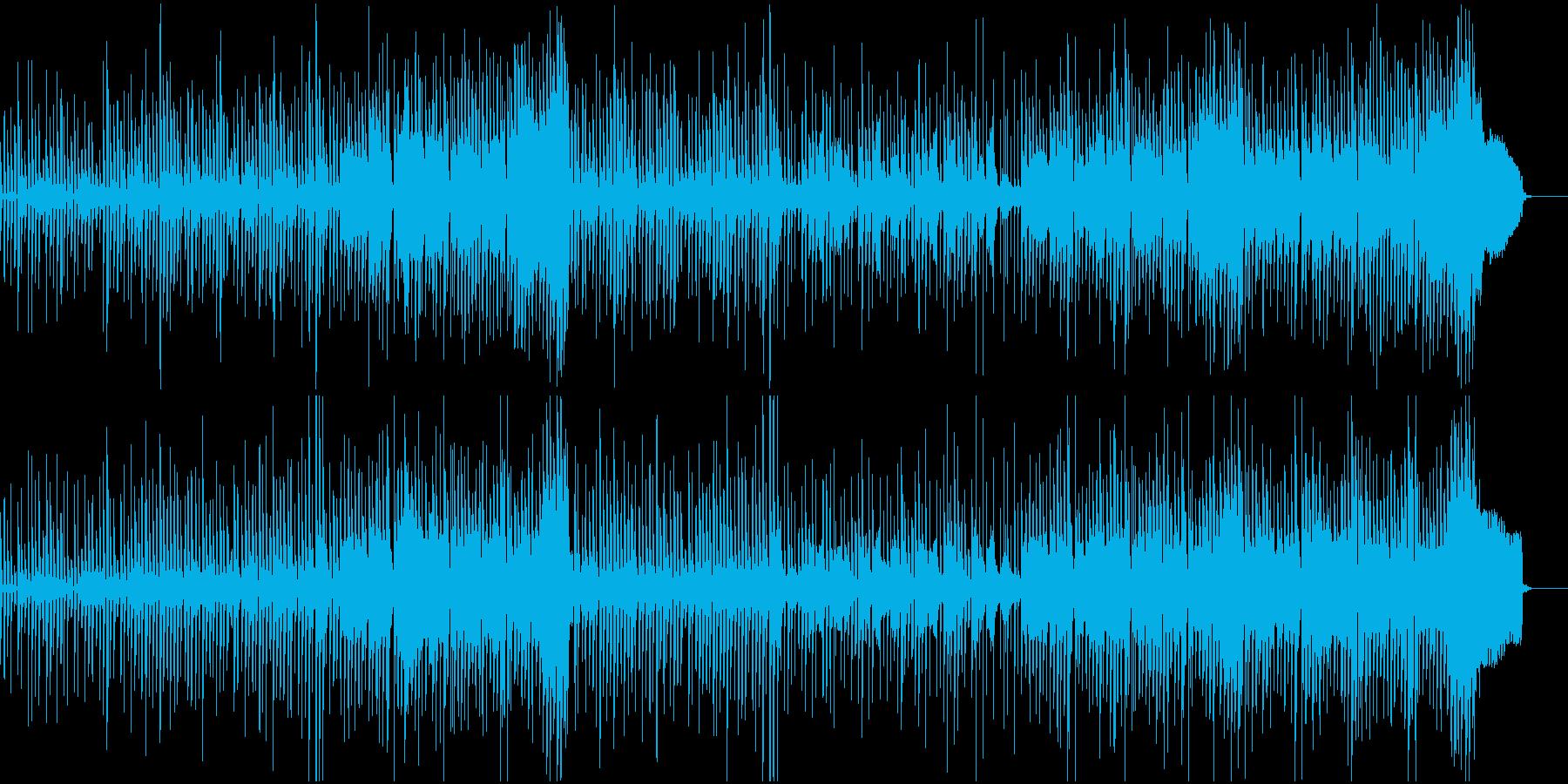 映像BGM 幻想的でかわいいの再生済みの波形
