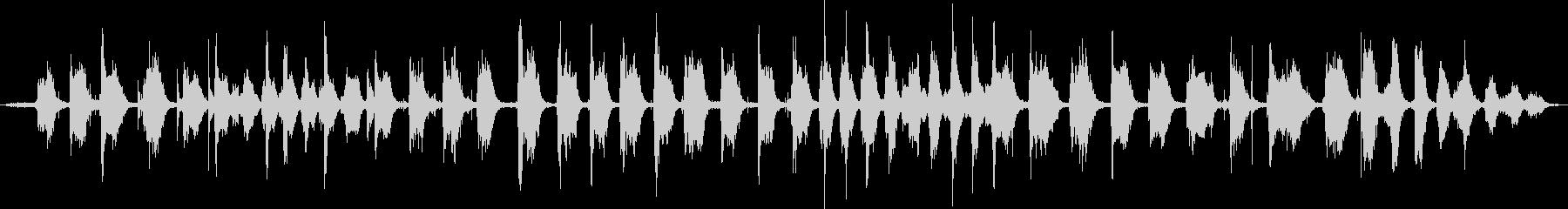 【生活音】ほうきの未再生の波形