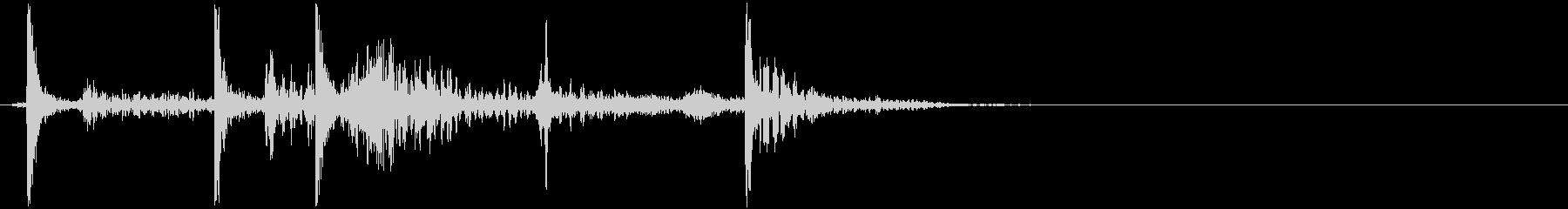 電子コンソールの小型電動パネル:オ...の未再生の波形