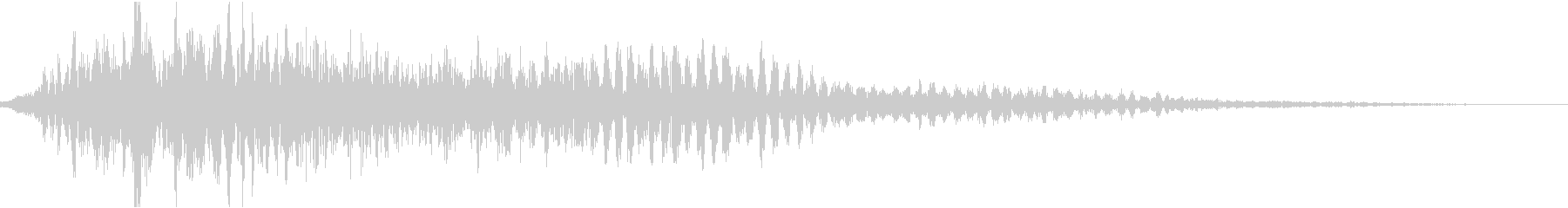 CINEMATIC SFX_14の未再生の波形