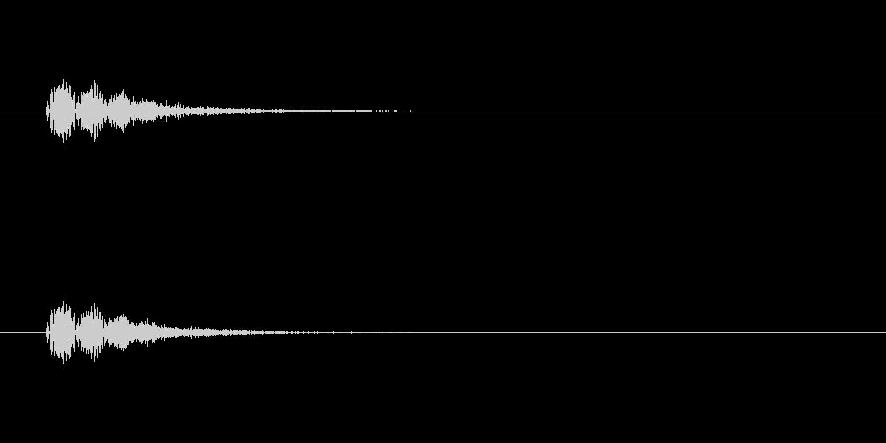 【サイバー19-1】の未再生の波形