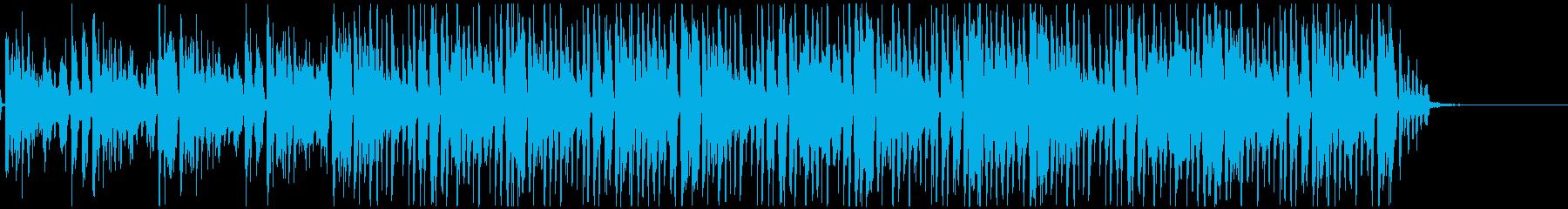 色っぽい/エロティック/クールなジャズの再生済みの波形