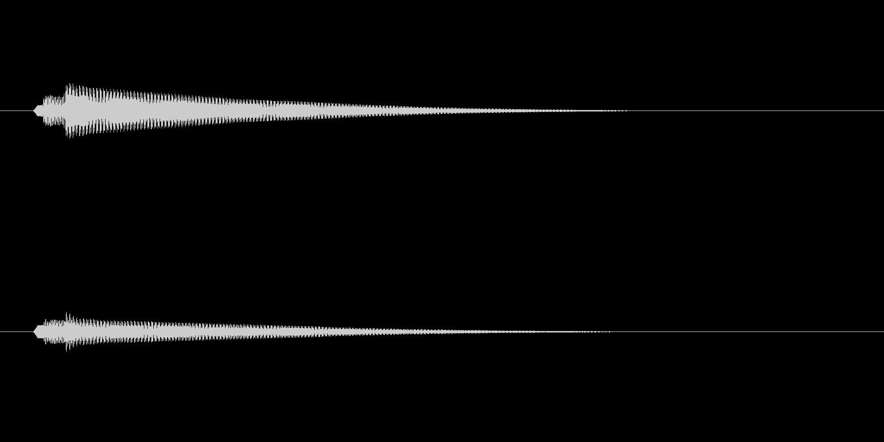 セーブ・ロード1ゲーム等(ピロローン)の未再生の波形