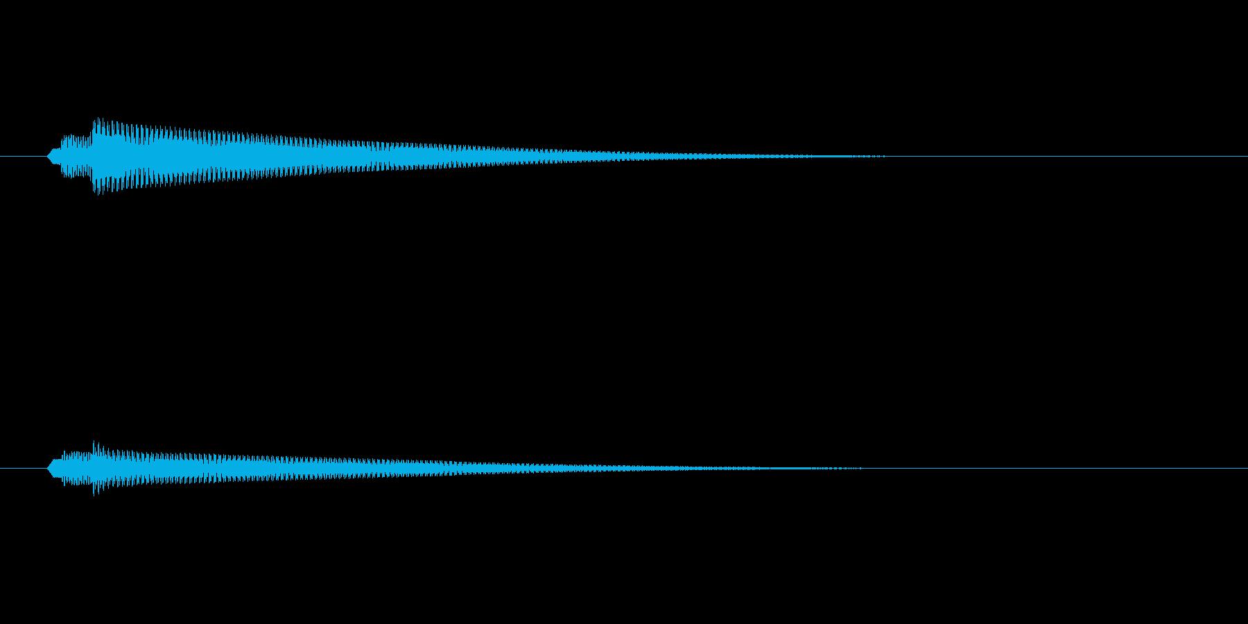 セーブ・ロード1ゲーム等(ピロローン)の再生済みの波形