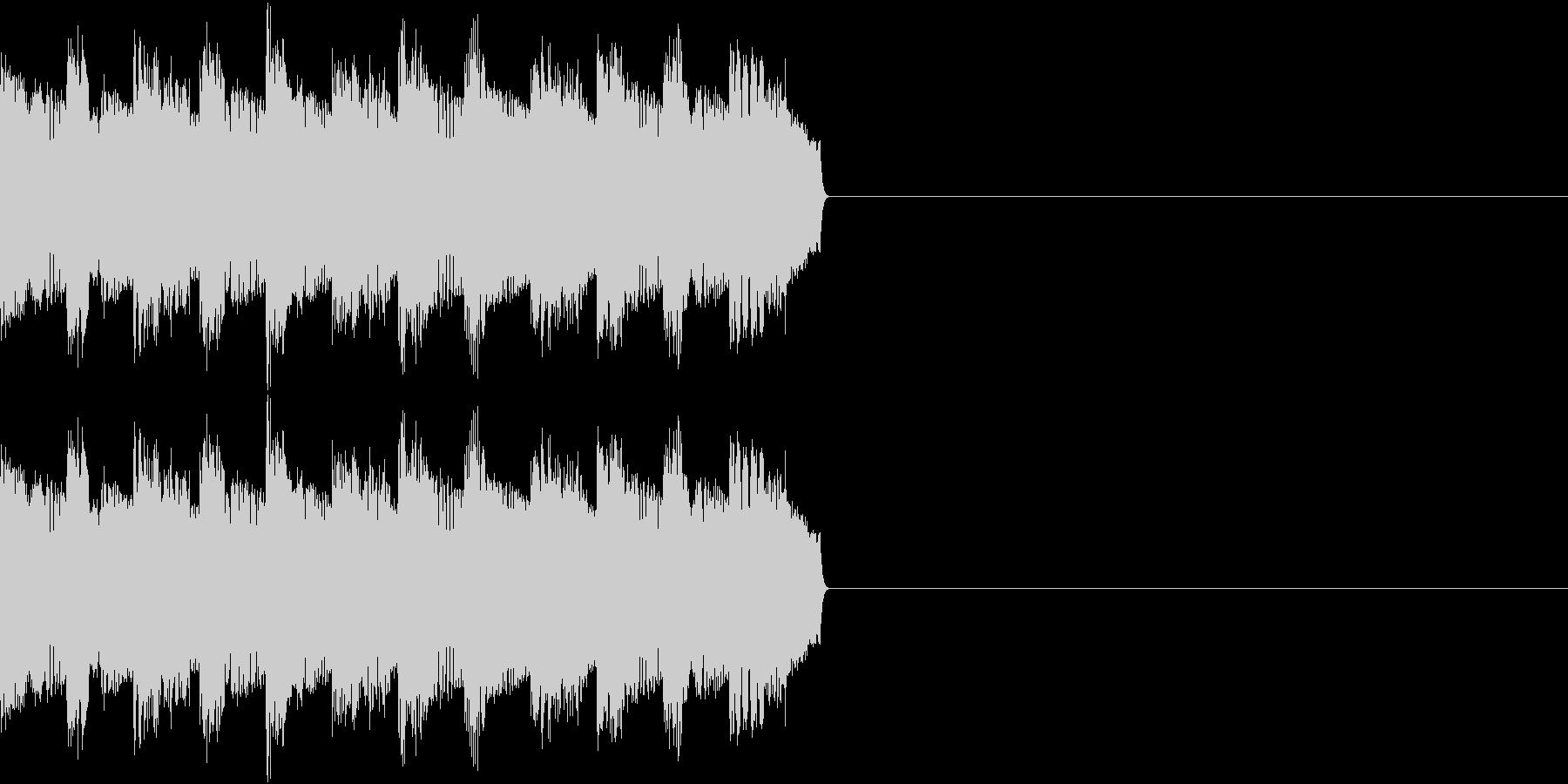 サイレン アラーム ファミコン 告知の未再生の波形