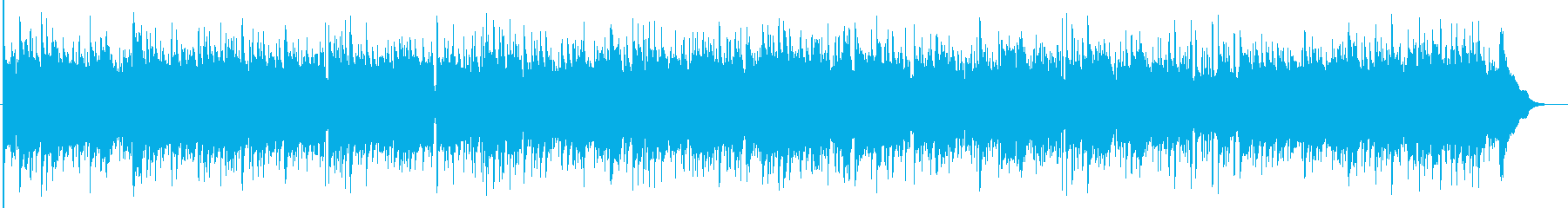 そよ風のように爽やかなアコギBGMの再生済みの波形