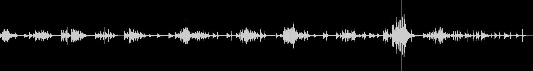 嫌な予感(ピアノソロ・不穏・不気味)の未再生の波形
