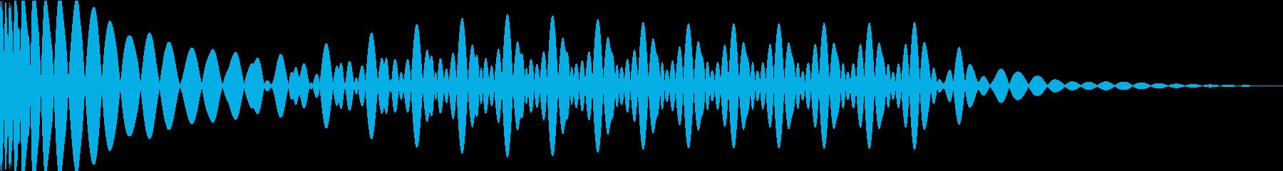EDMキック キーEの再生済みの波形