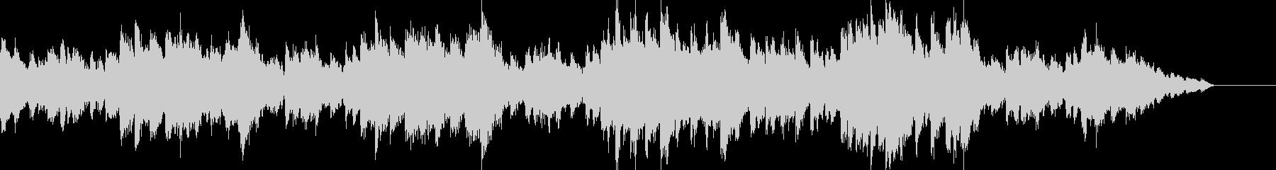 悲しく美しいピアノシンセの未再生の波形