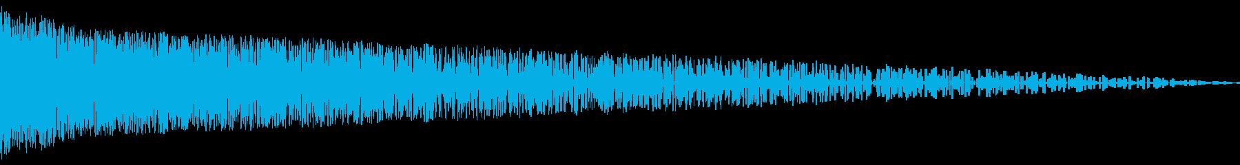 バシュン!(ショット/攻撃/NES/GBの再生済みの波形