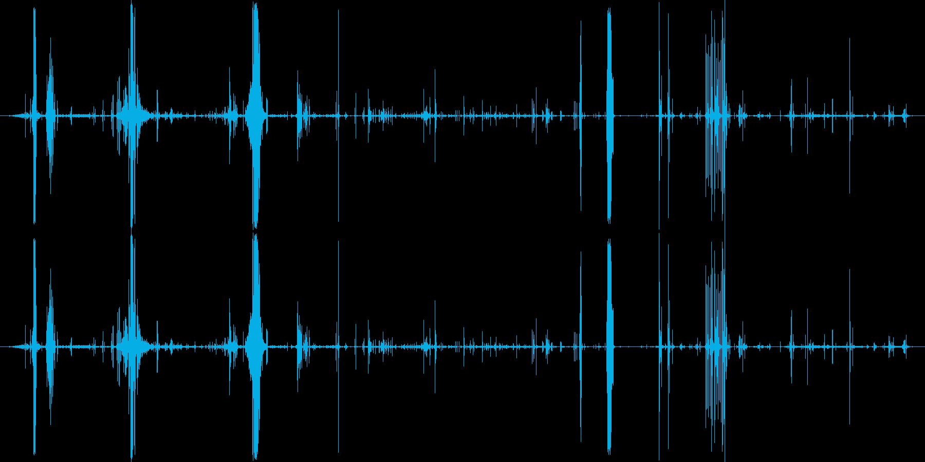 モンスター 肉食が遅い03の再生済みの波形