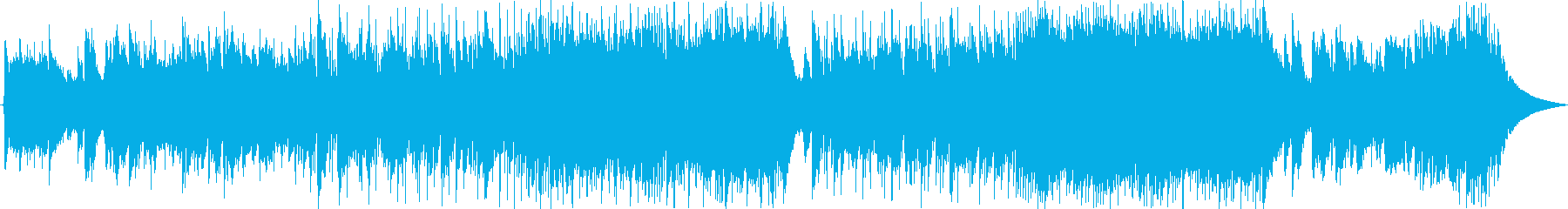 やさしい雰囲気のブルース調スローテンポの再生済みの波形