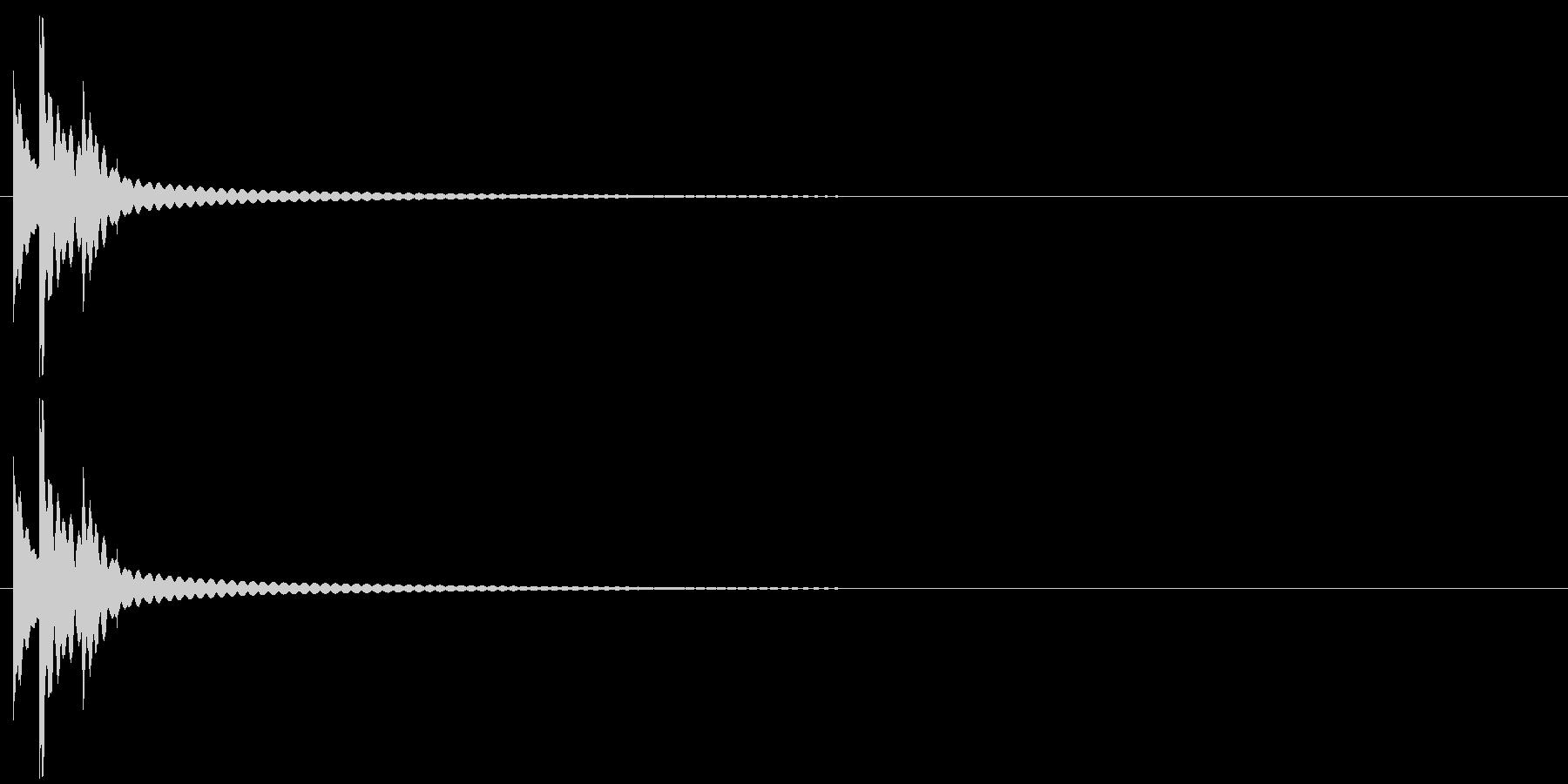りん・持鈴「チリチリーン」#6の未再生の波形