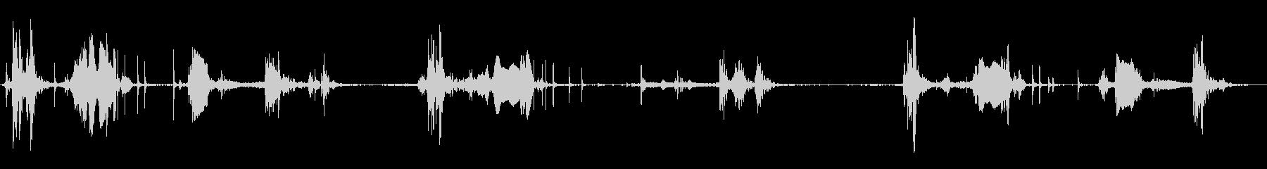 木製ハッチ:スライド開閉、きしむ、...の未再生の波形