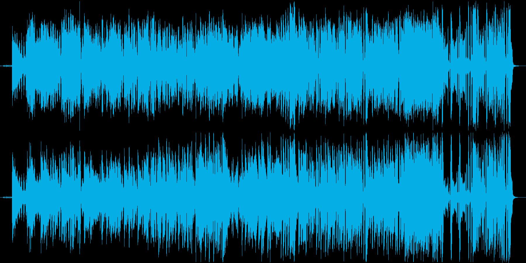 情熱のアコーディオンとギターのフラメンコの再生済みの波形