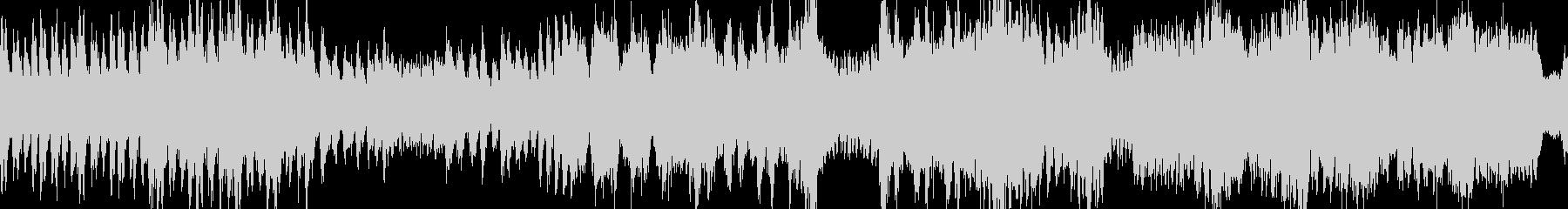 モンハン風・熱いボス戦闘曲・ループの未再生の波形