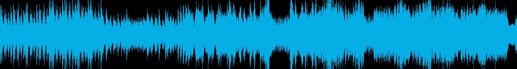 モンハン風・熱いボス戦闘曲・ループの再生済みの波形