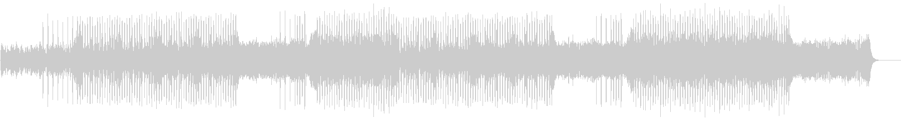 バイオリン・シティポップ風ジングルの未再生の波形