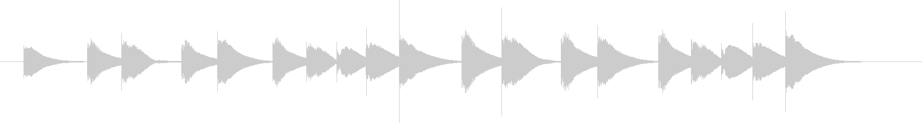 ビブラフォン:ハロウィンメロディー...の未再生の波形