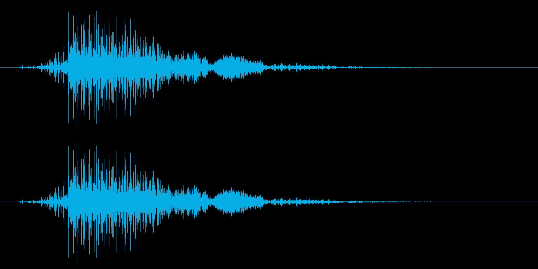 フライング ドラゴン モンスター 驚きの再生済みの波形