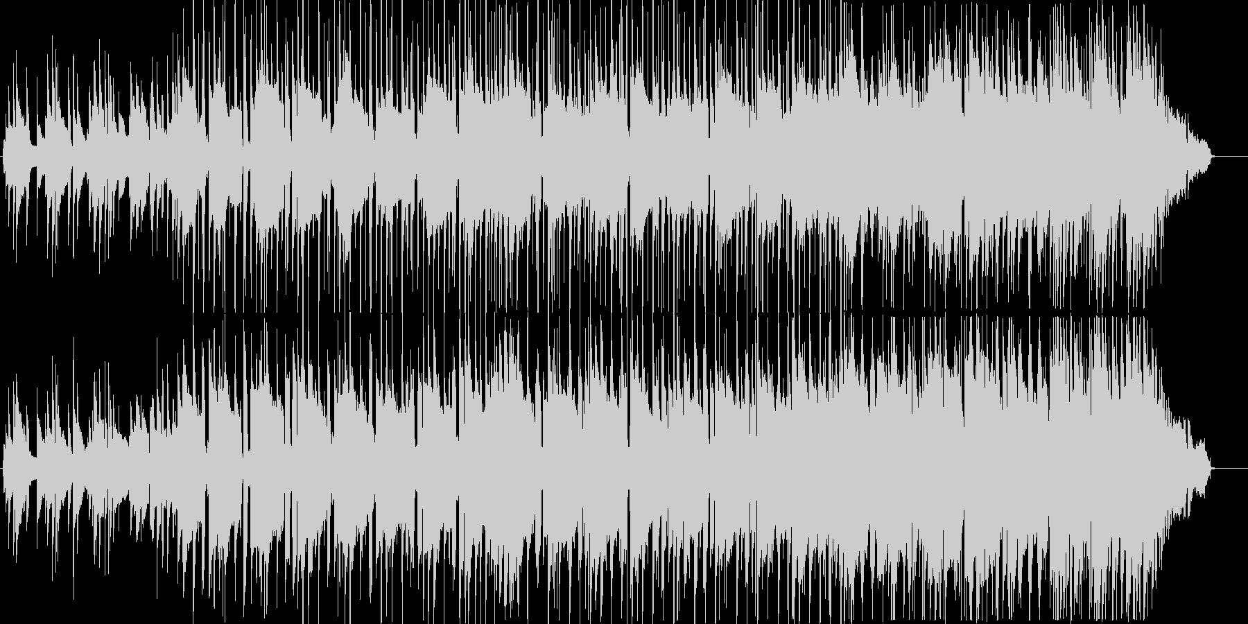 ちょっと切ないブルジーサウンドの未再生の波形