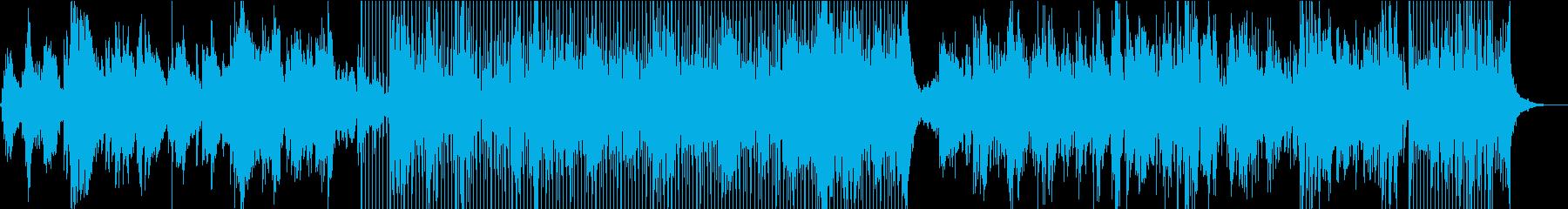 サックスソロとベースのジャジーなバ...の再生済みの波形