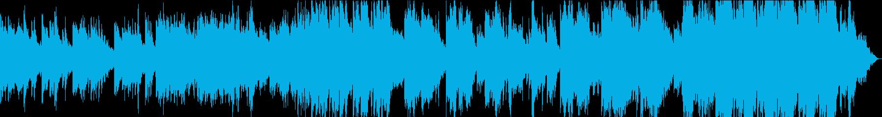 緑豊かな音と大気の溝は、この上品な...の再生済みの波形