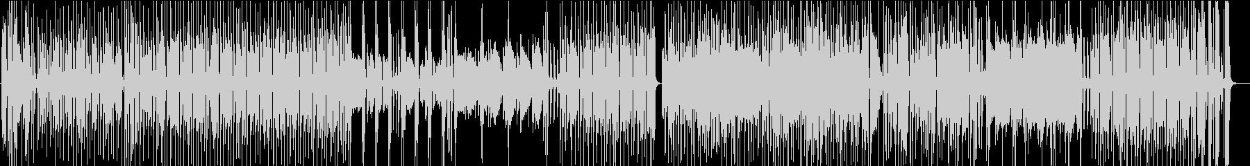 ポップでファンキーなサックス曲の未再生の波形